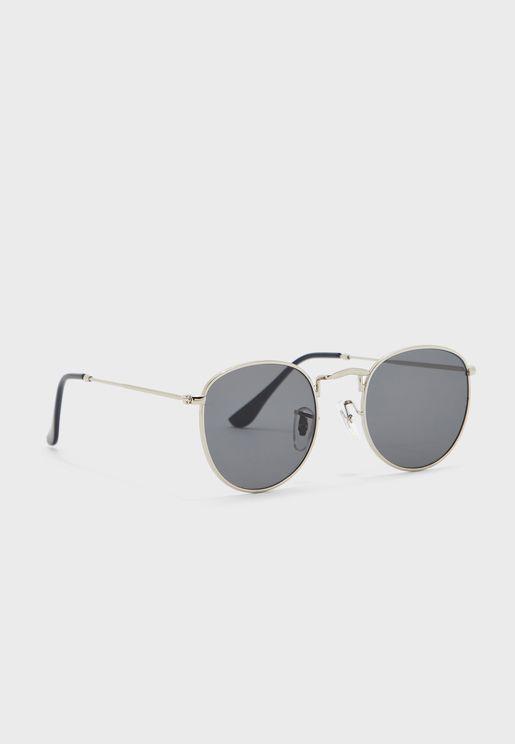 نظارة شمسية مظللة دائرية