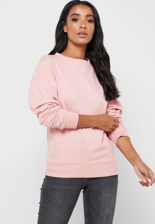 Essential Crew Neck Sweatshirt
