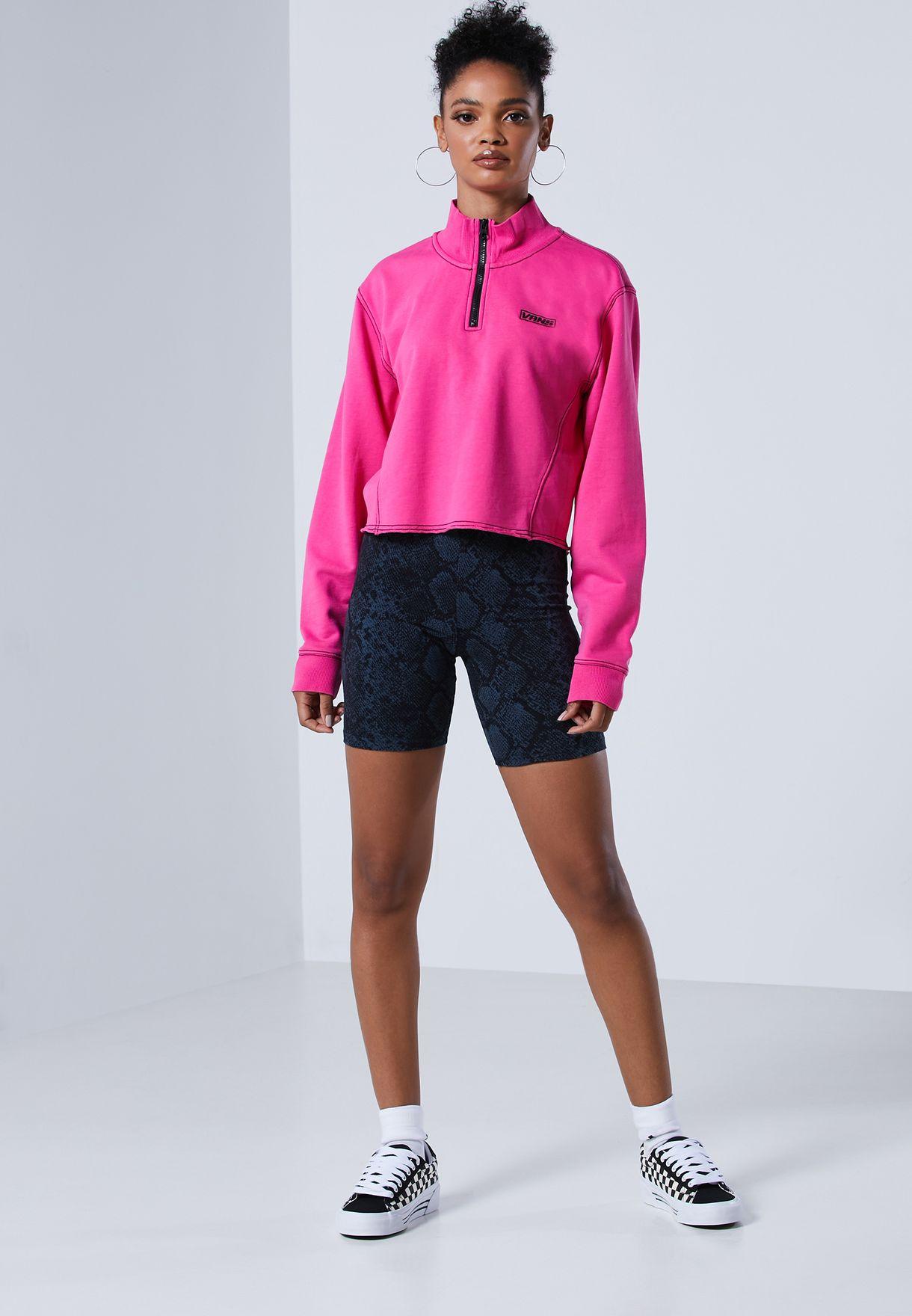 Thread It Mock Neck Sweatshirt