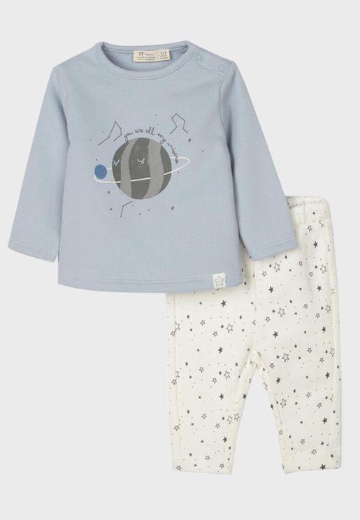 Infant Star Print Tracksuit