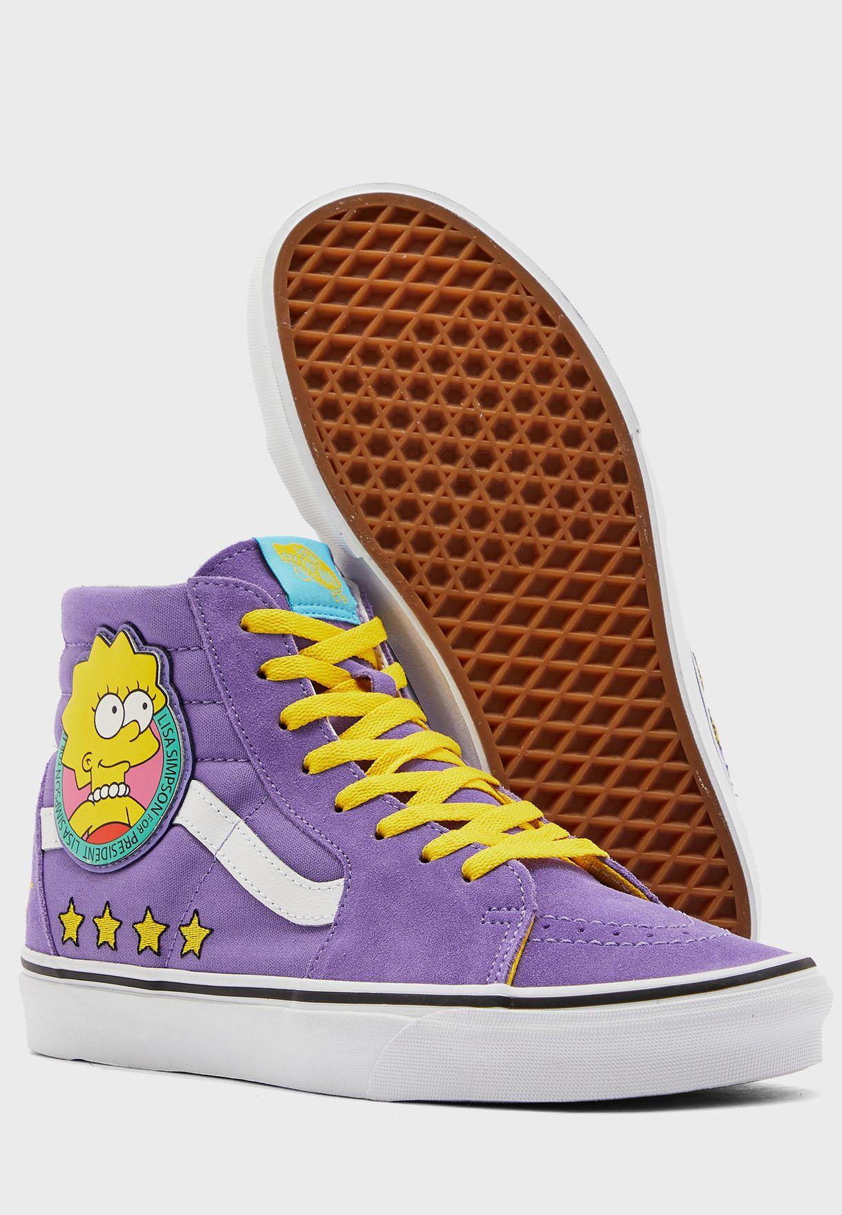 Simpsons Lisa SK8-Hi