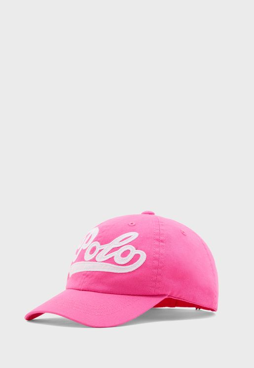 Kids Embroidered Logo Cap