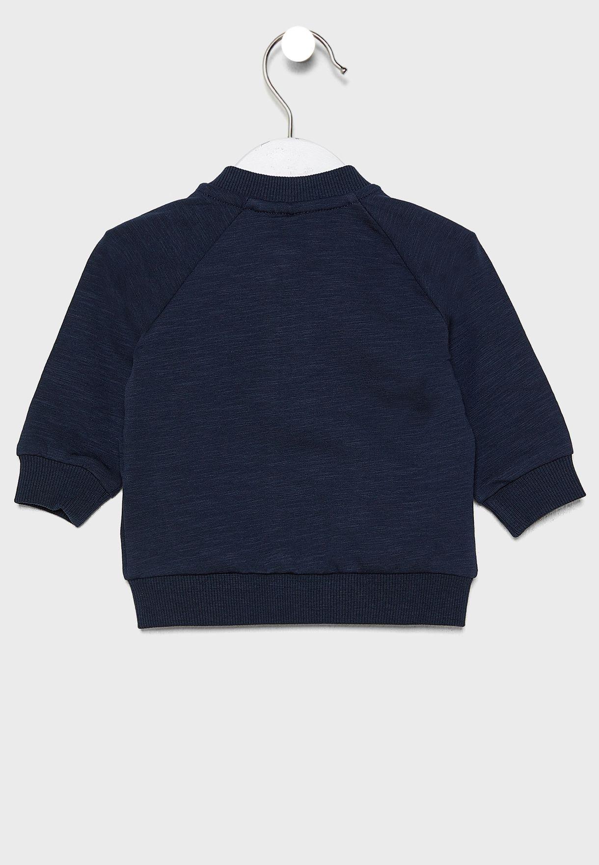 Kids Pocket Detail Sweatshirt