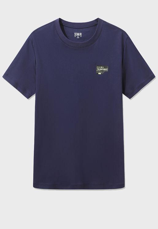 Crew Neck Short Sleeves T-Shirt
