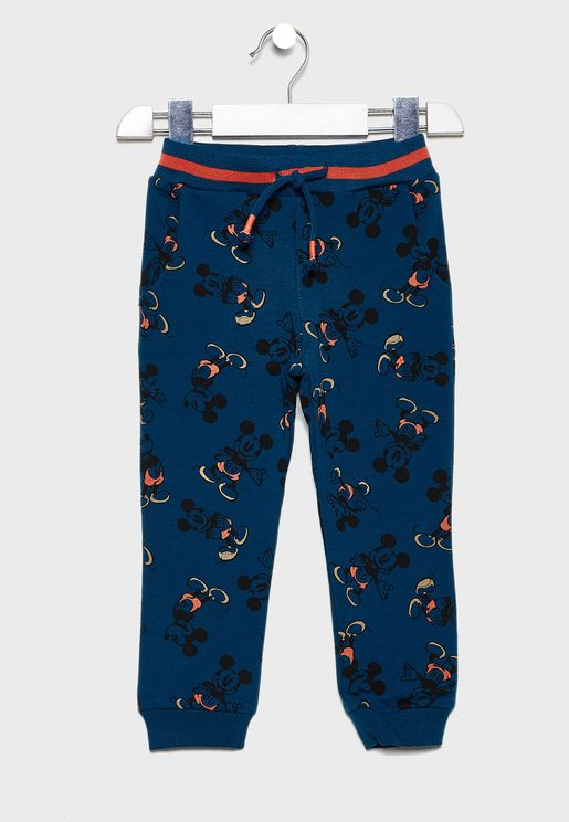 Kids Mickey Sweatpants