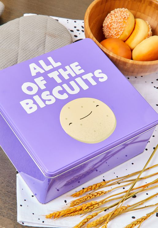Jolly Awesome All Of The Biscuits Storage Tin