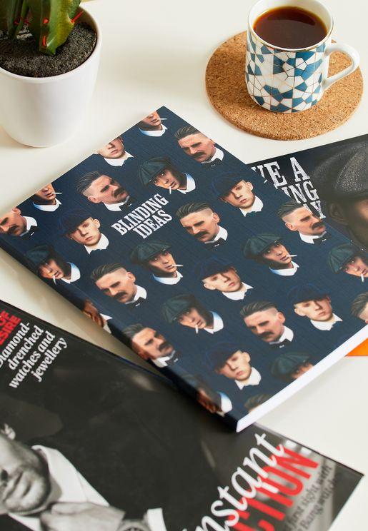 A5 Peaky Blinders Notebook