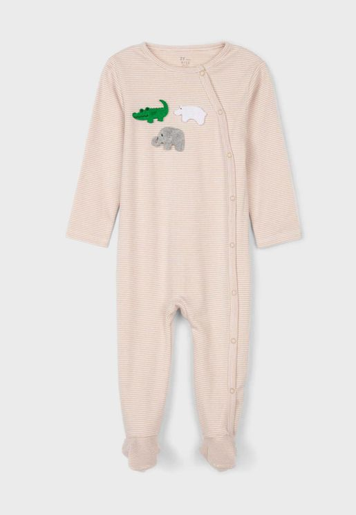 Infant Striped Onesie
