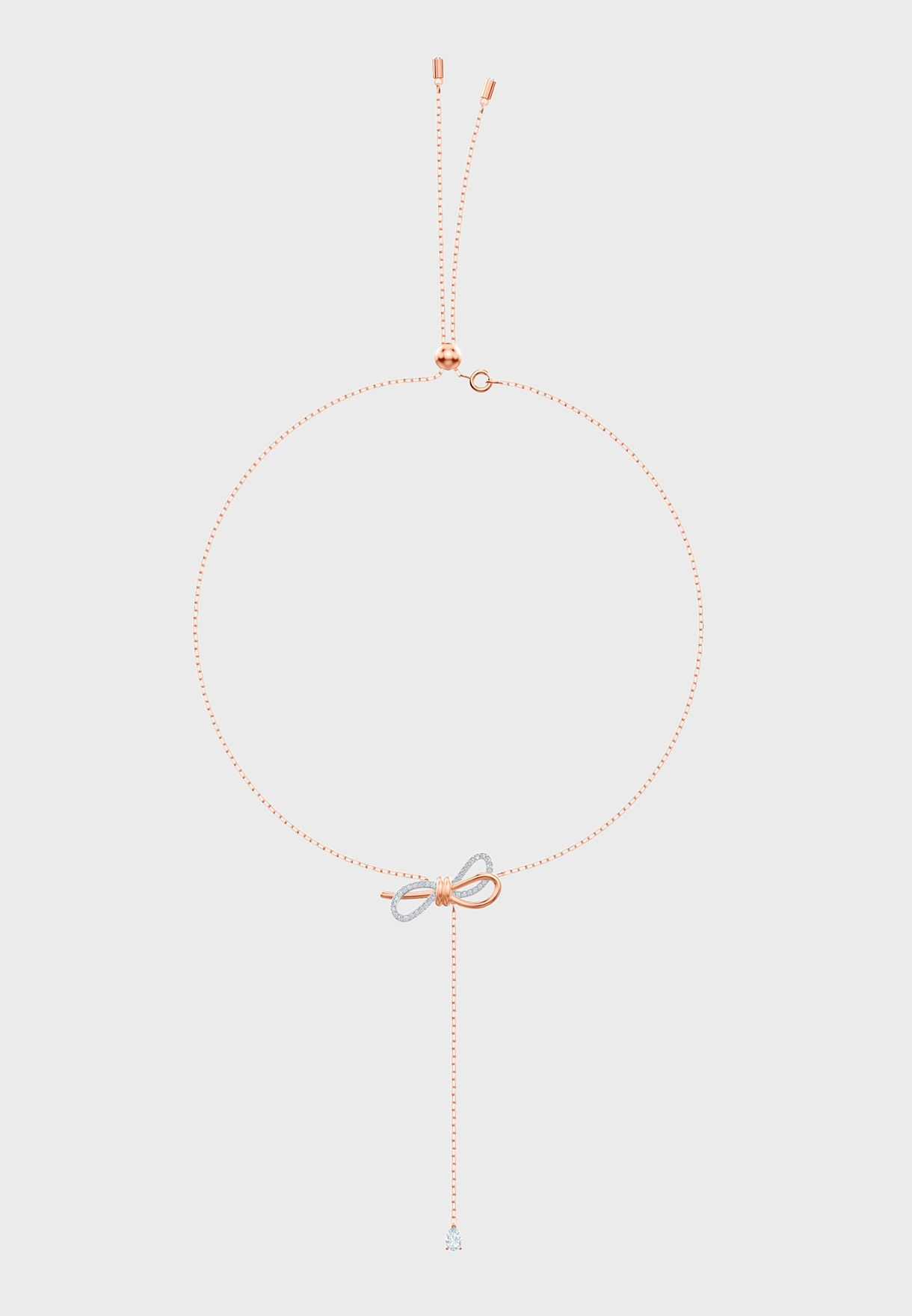 Lifelong Bow Y-Necklace