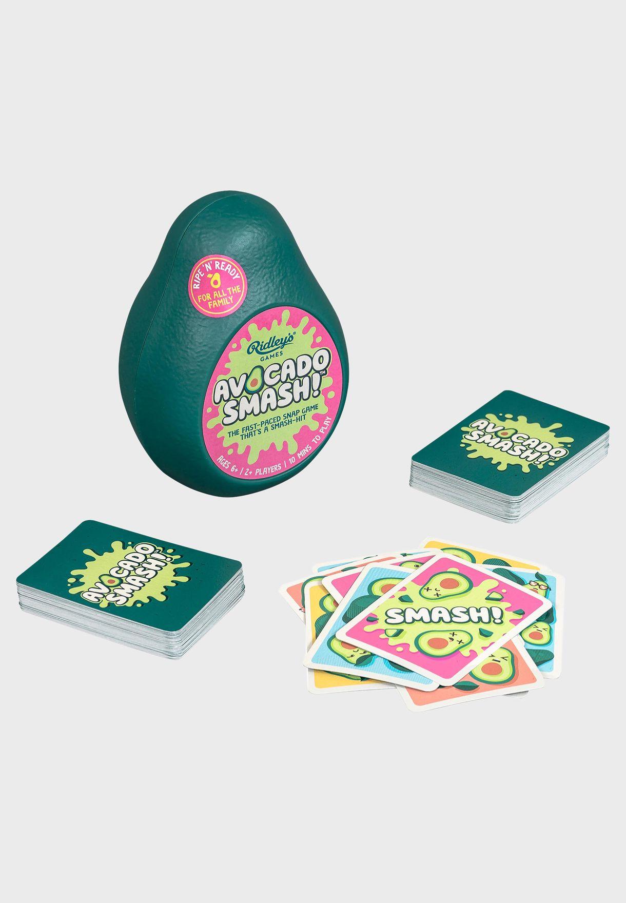 CDU of 9 Avocado Smash Game