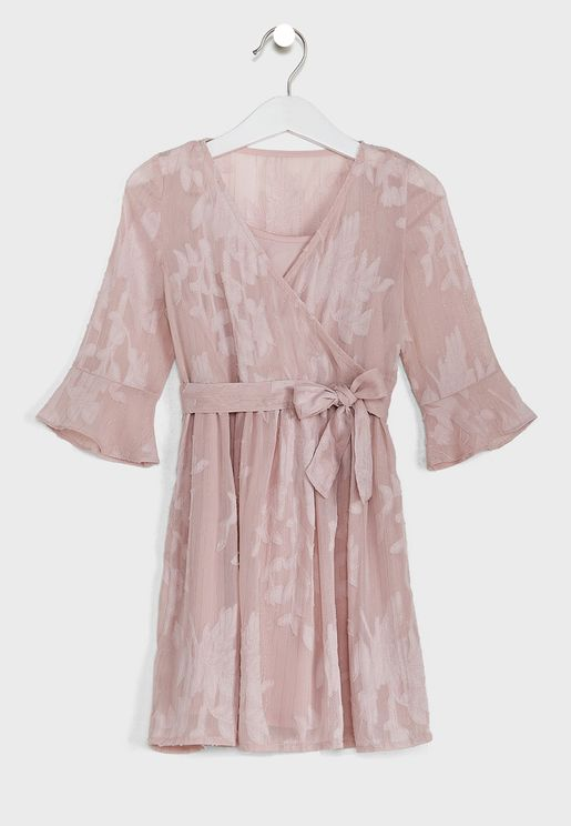 Youth Candy Wrap Dress