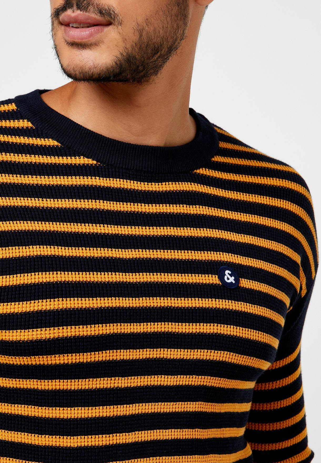 Martin Striped Knitted Sweater