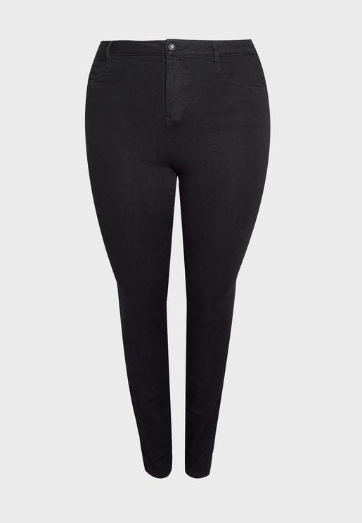 Ankle Grazer Dark Wash Jeans