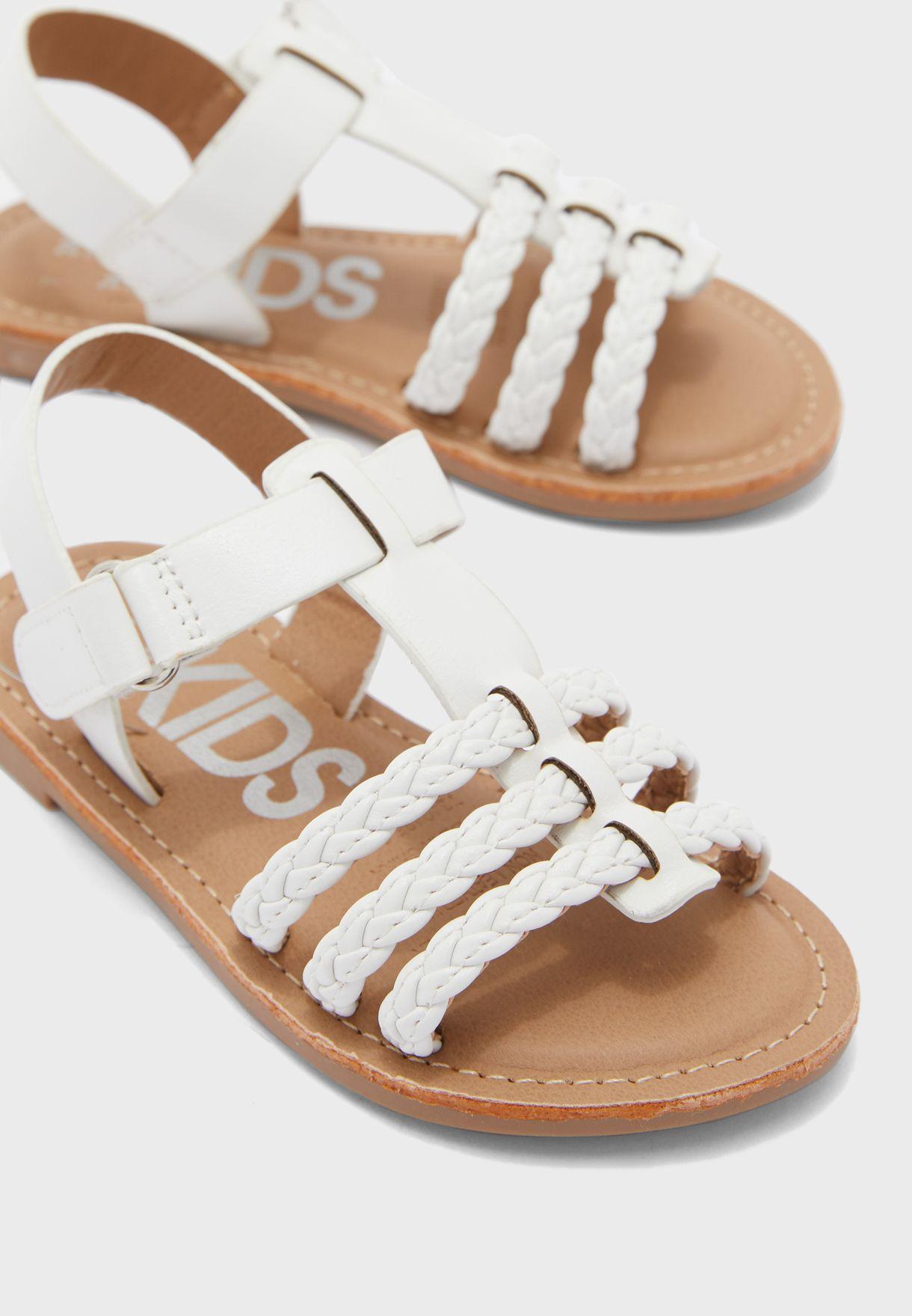 Kids Braided Sandal