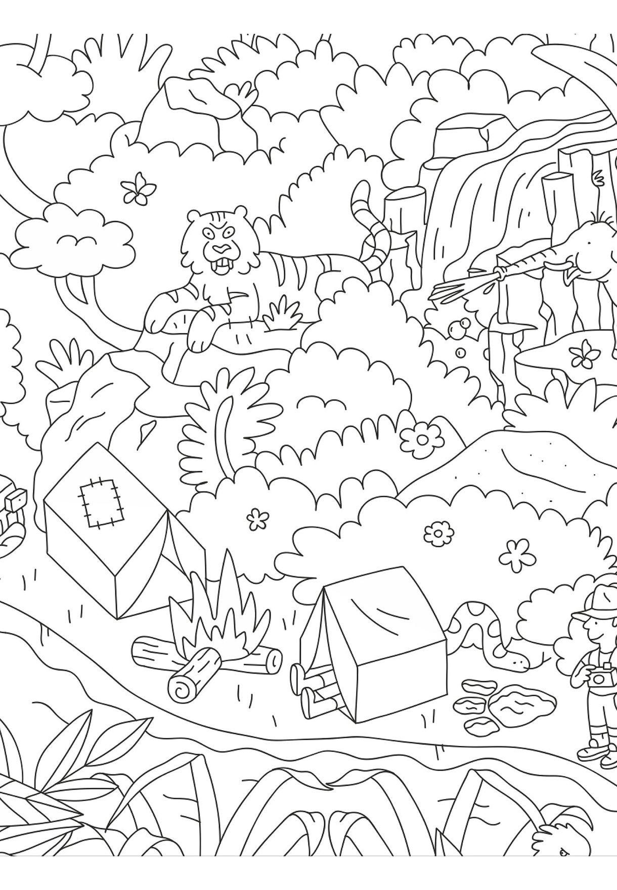 ملصق الغابة