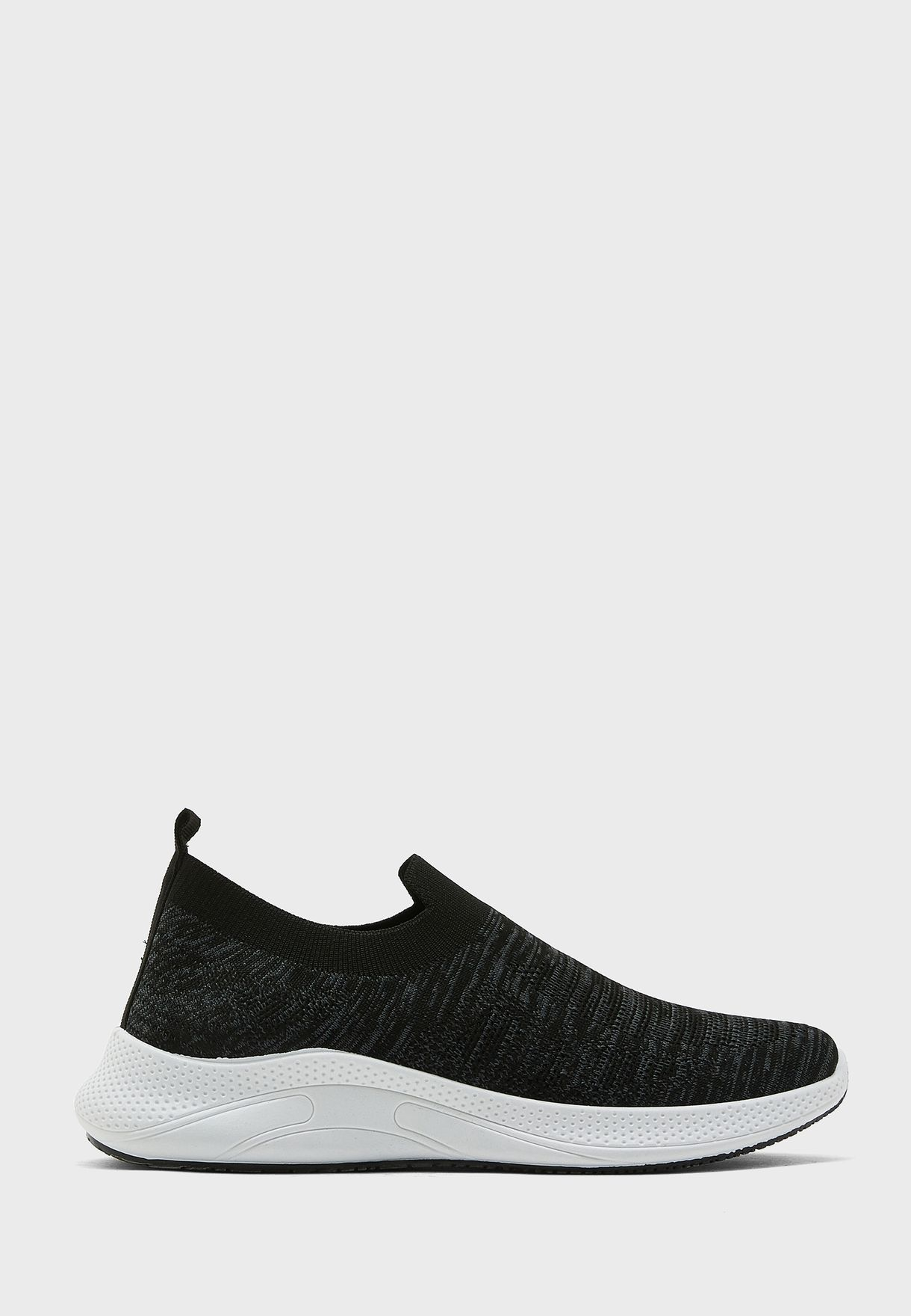 Knitted Casual Slip On Sneakers