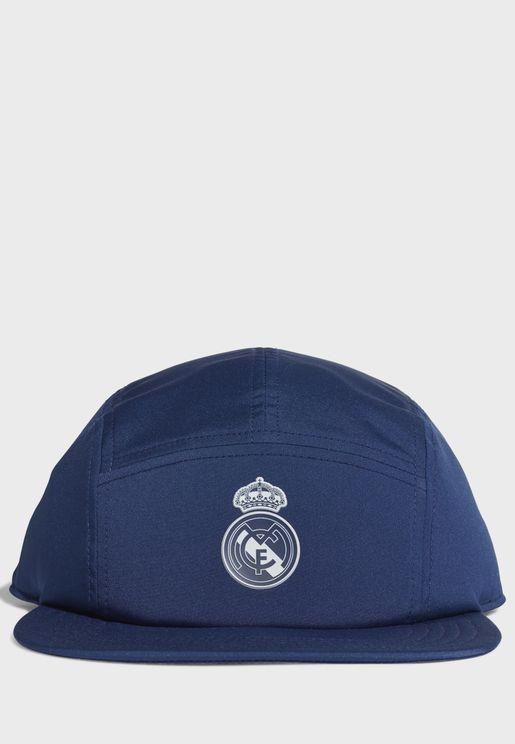 Real Madrid 5 Panel Cap