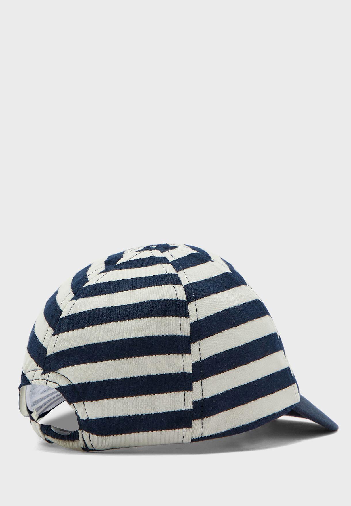 Kids Mickey Striped Cap