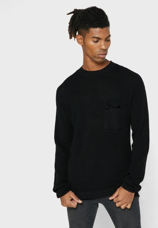 Race Knitted Sweater