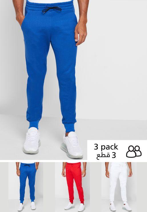 3 Pack Jogger Pants