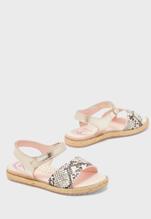 Kids Animal Print Sandal
