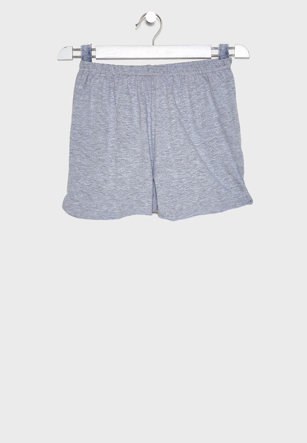 Infant Graphic Top + Short Pyjama Set