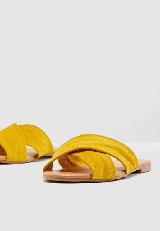 Marnie Suede Sandal
