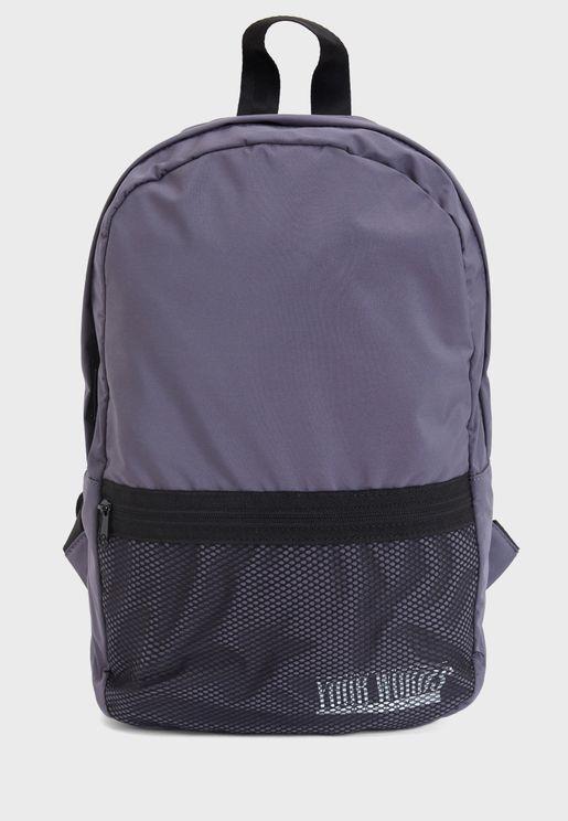 Zip Closure Backpack