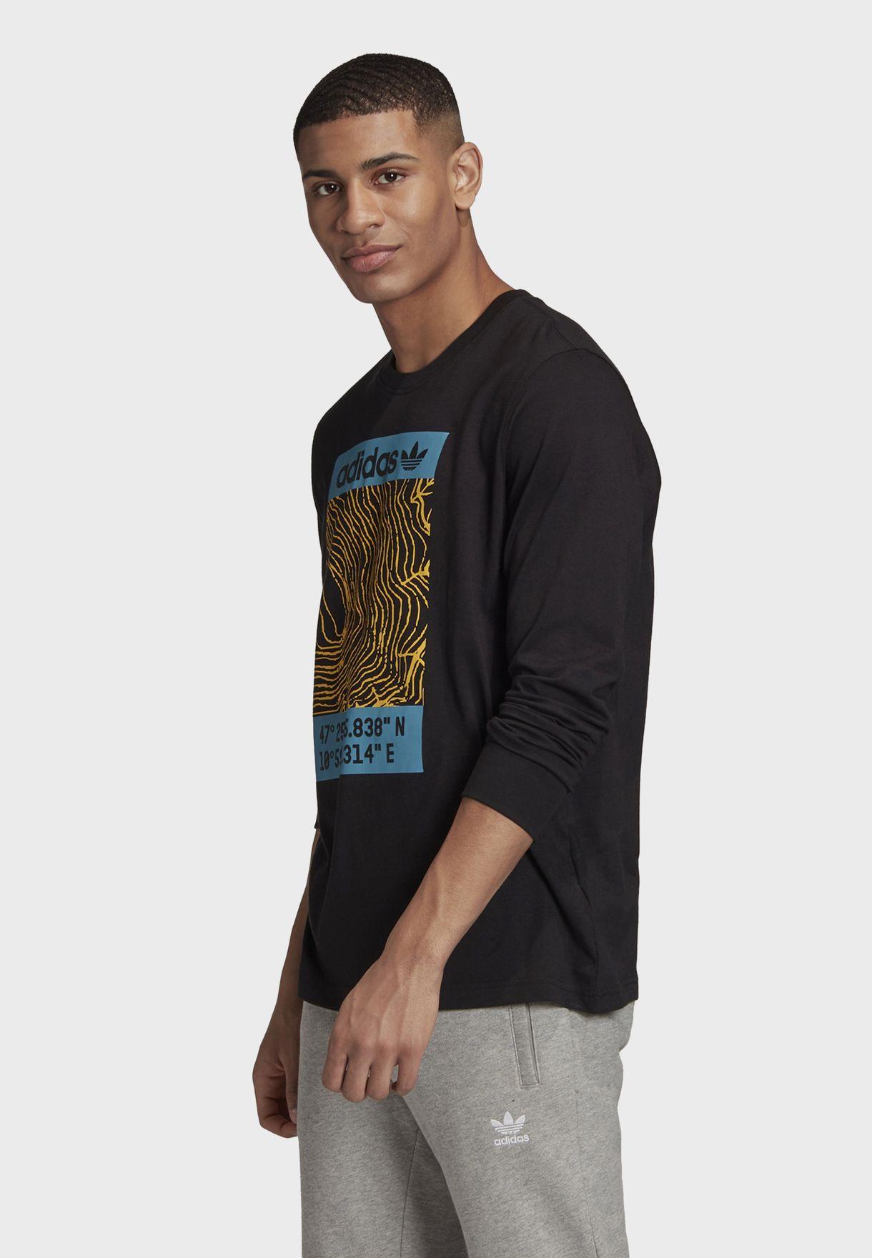 Graphics Casual Men's Long Sleeve T-Shirt