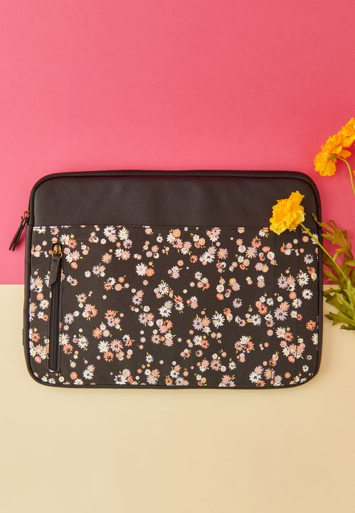 "15"" Dolly Daisy Take Charge Laptop Case"