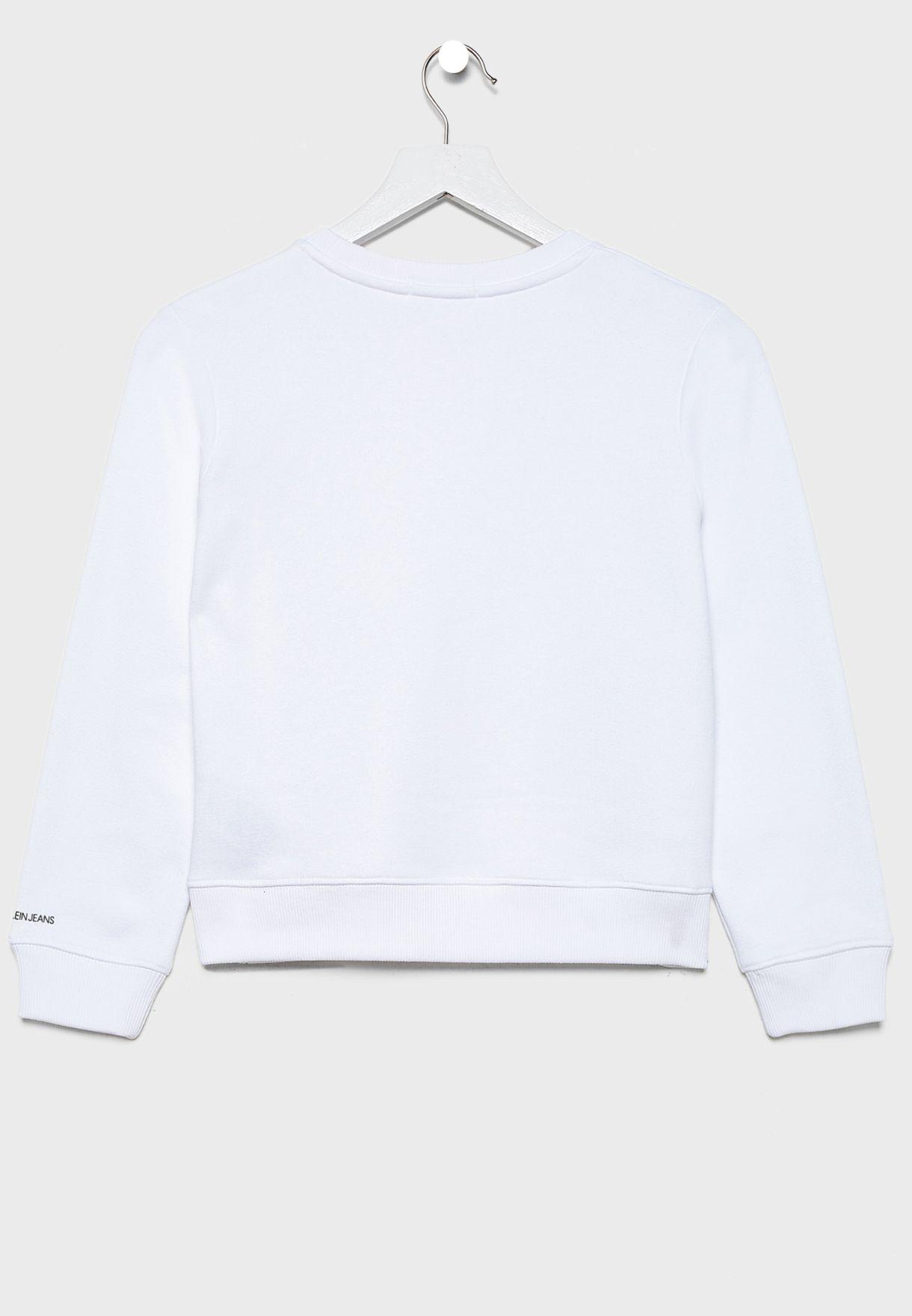 Kids Monogram Sweatshirt