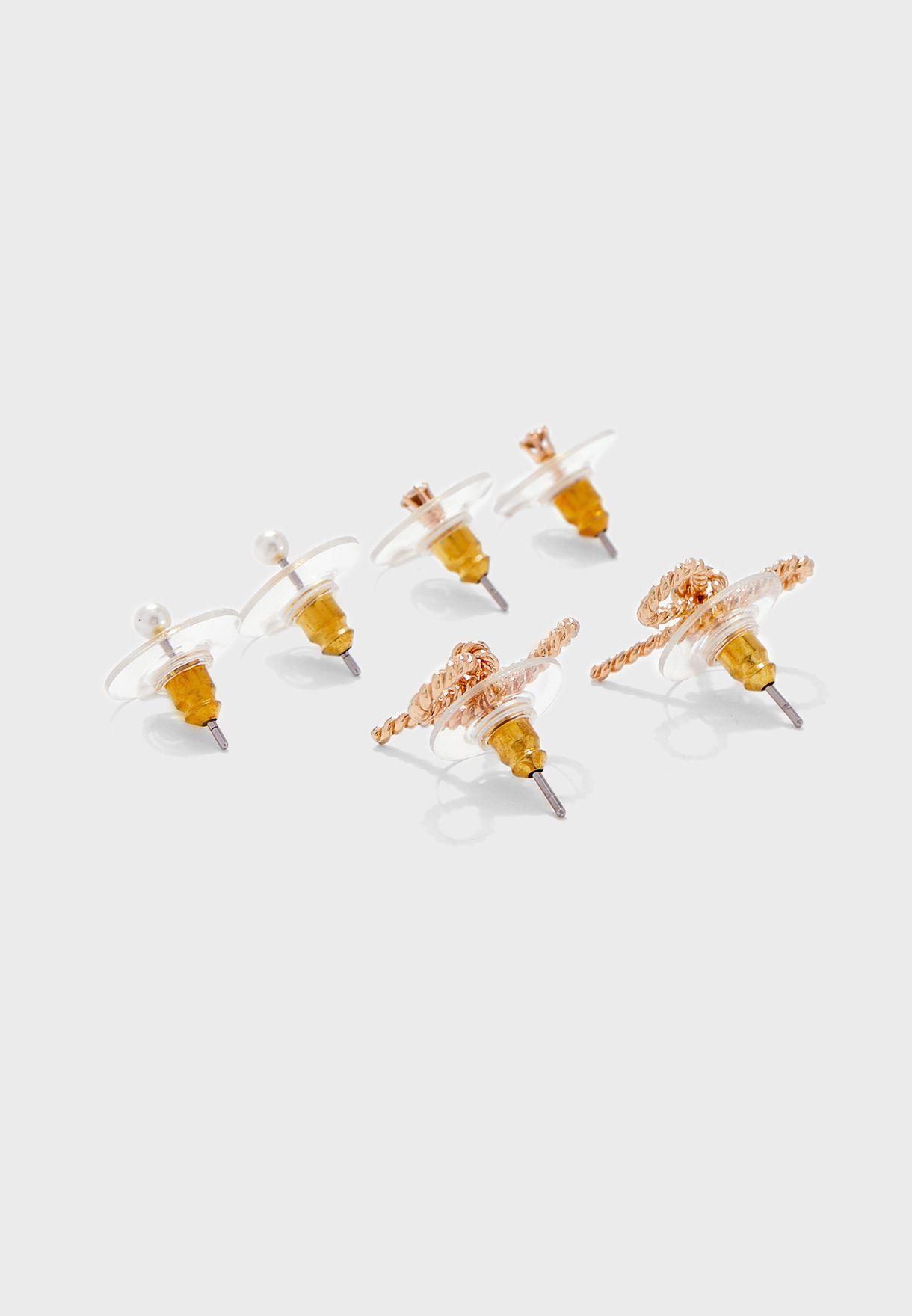 Multipack Slimy Earrings