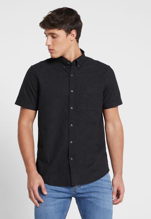 قميص اوكسفورد كلاسيكي