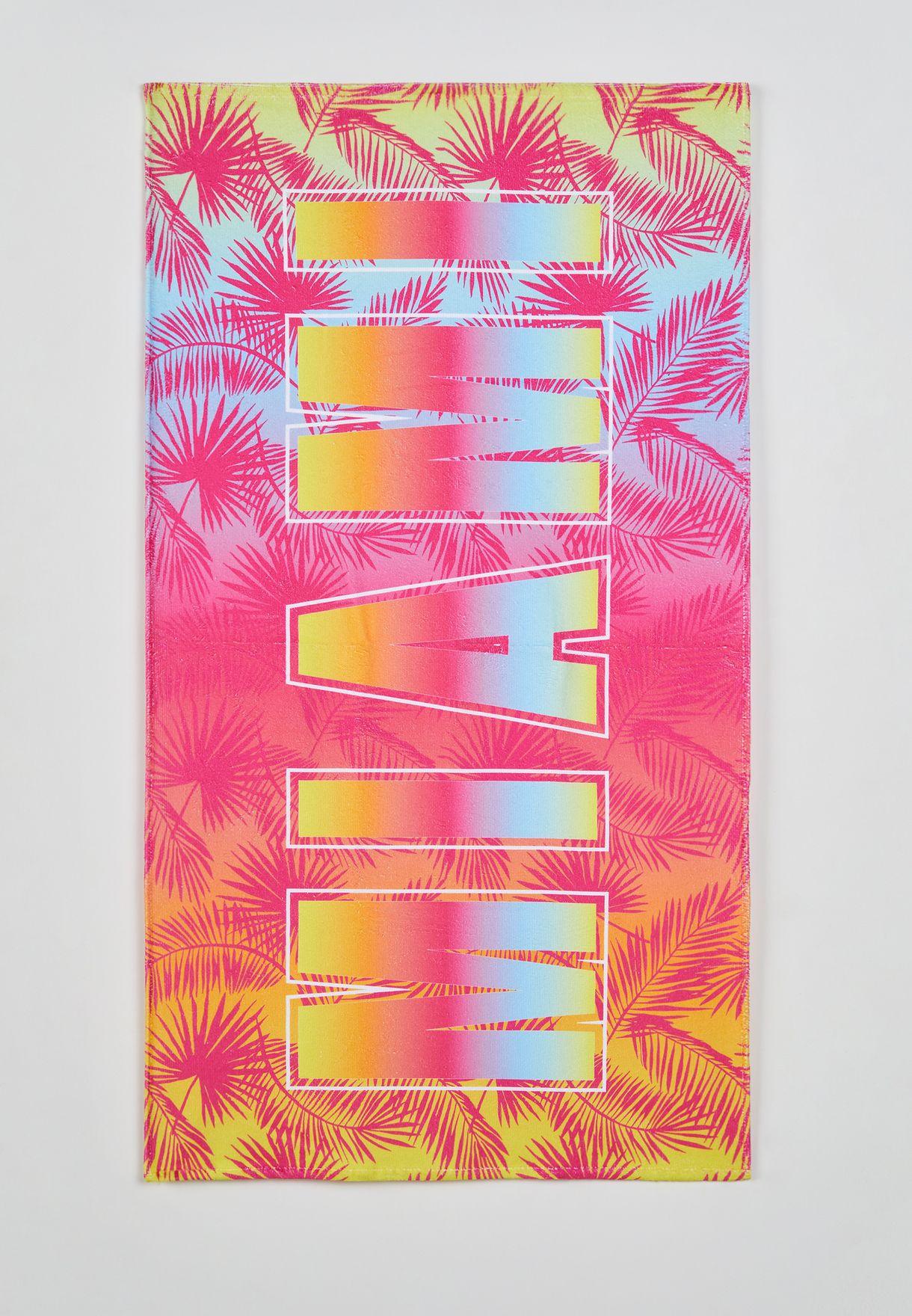 Kids Miami Printed Towel
