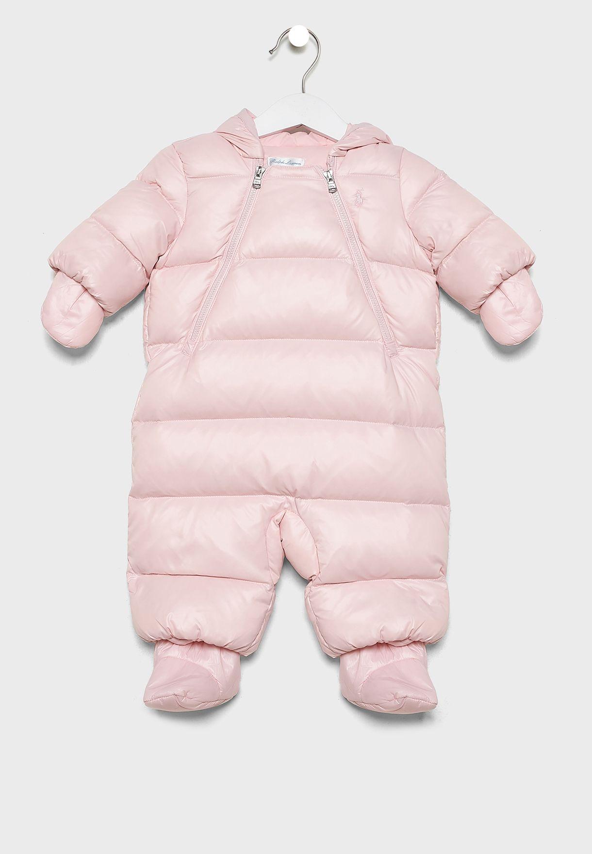 Infant Hooded Romper