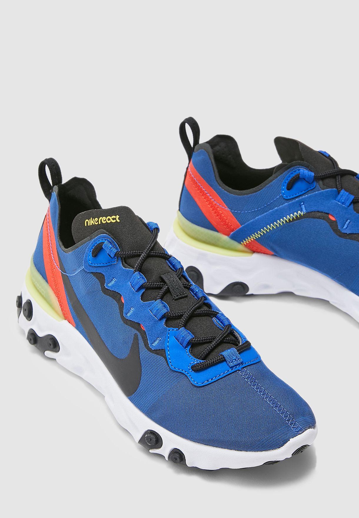 Buy Nike navy React Element 55 for Men