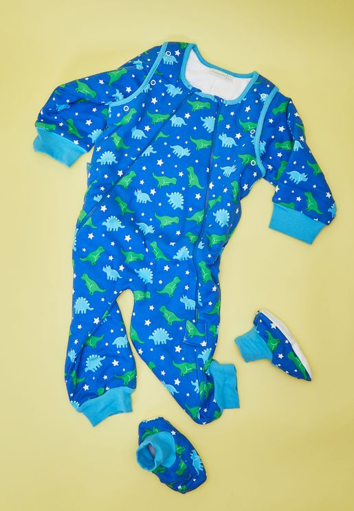 Dinosaur Printed Sleep Snuggler 2.5 Tog