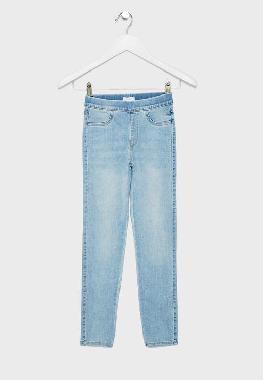 بنطال جيغنز للاطفال