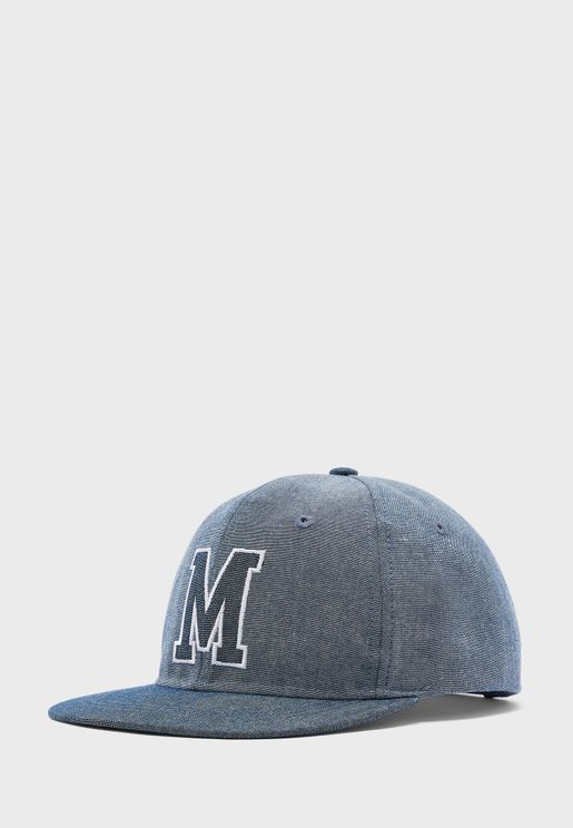 Teen Printed Flat Peak Cap