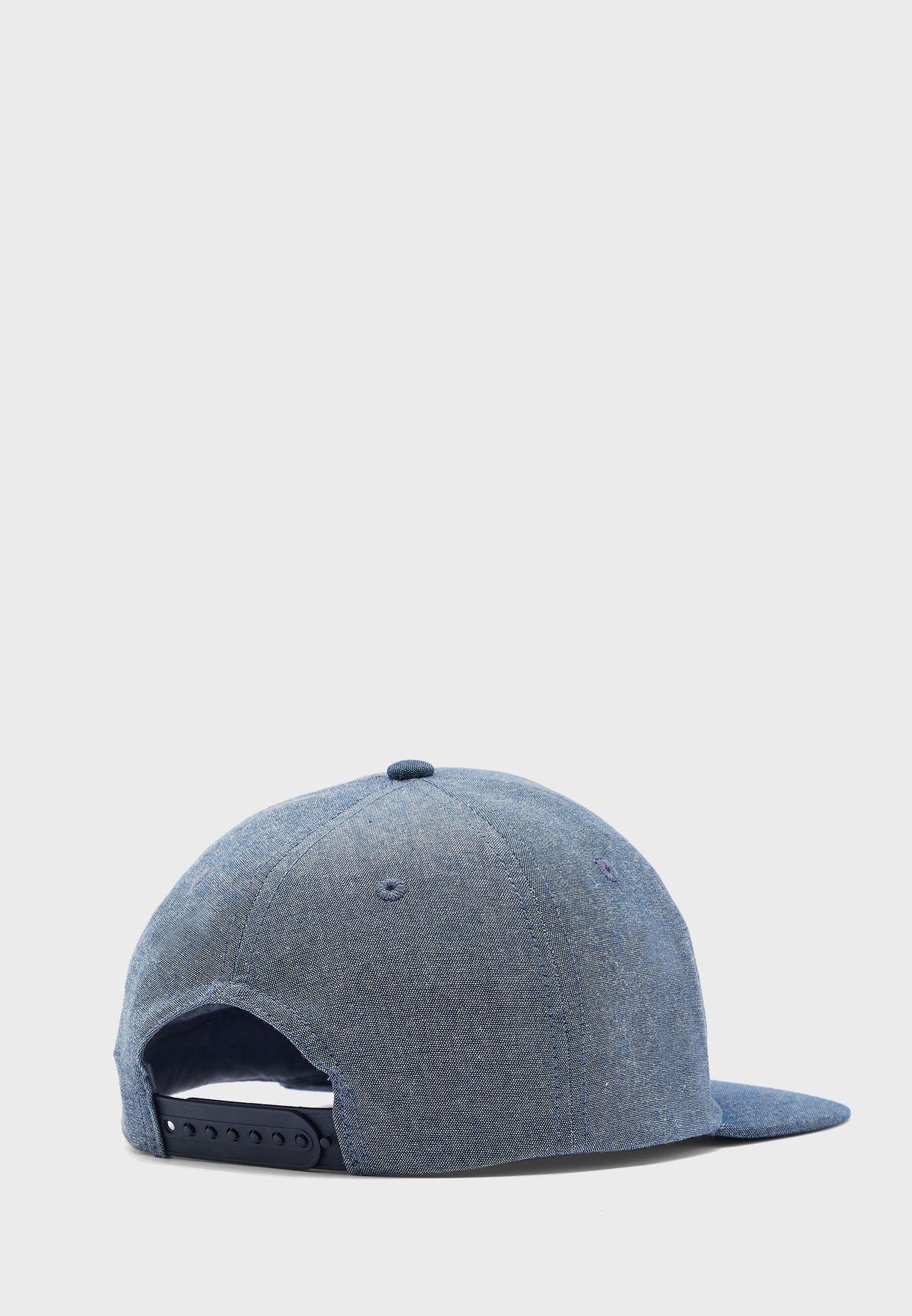 Teen Printed Flat Peak Cap