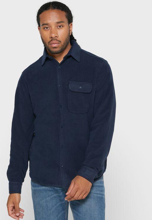 Fleece Relaxed Fit Shirt