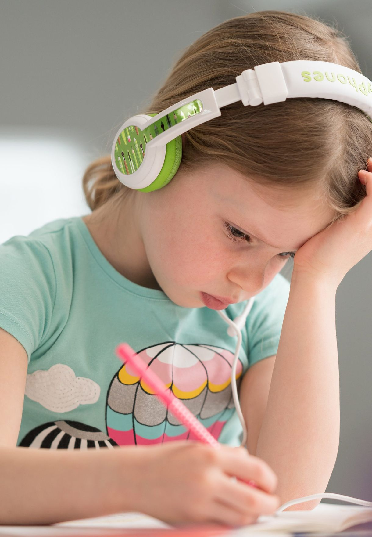سماعات أذن بميكروفون للاطفال