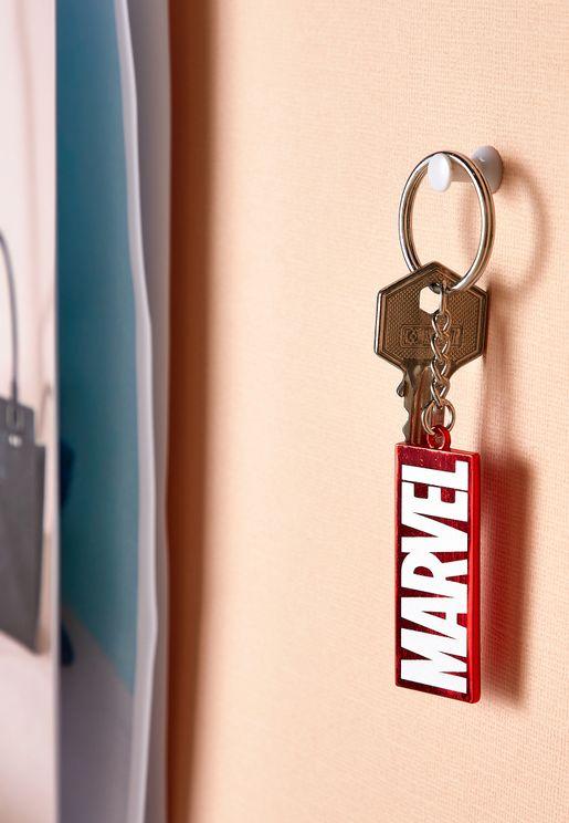 Marvel Logo Enamel Keyring