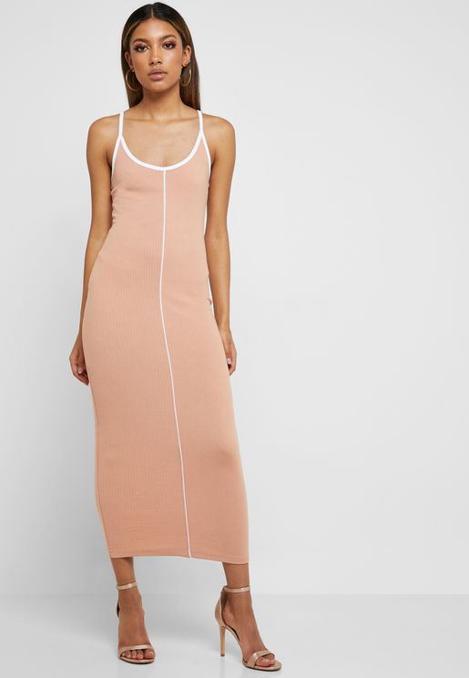 85dd61e1d53 Ribbed Bodycon Dress. Missguided. Ribbed Bodycon Dress