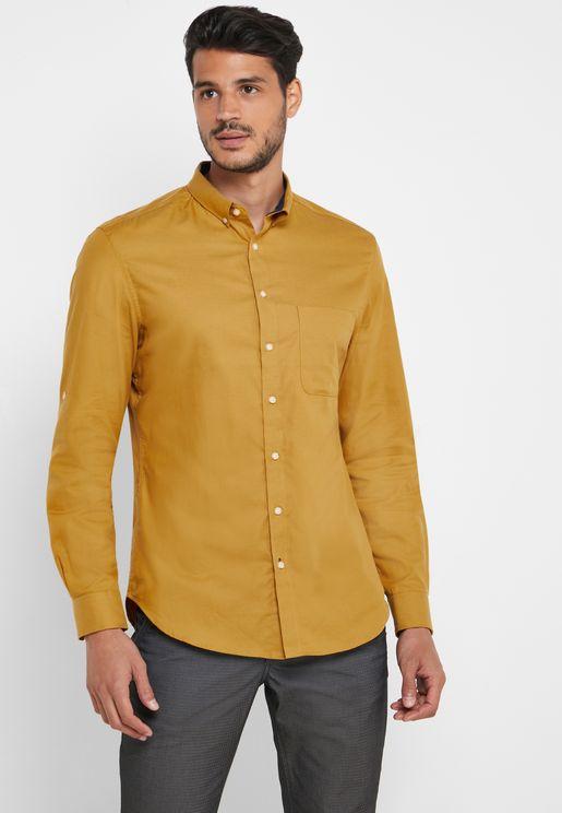 قميص بجيب