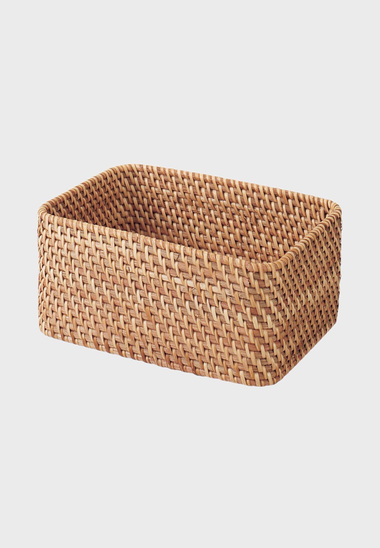 Stackable Rattan Box