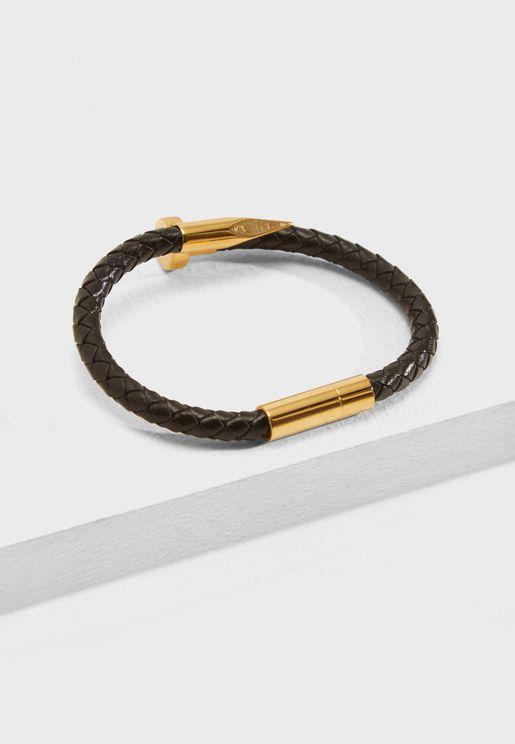 Braided Nail Bracelet