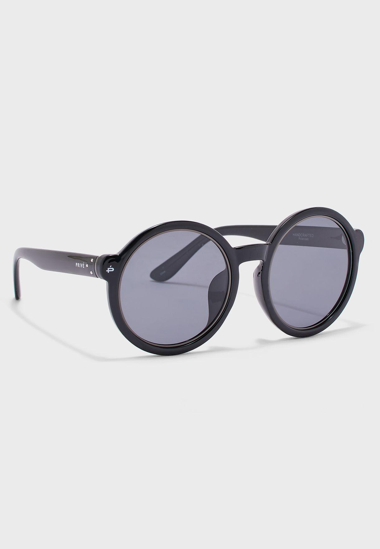 The Boss Round Polarized Sunglasses