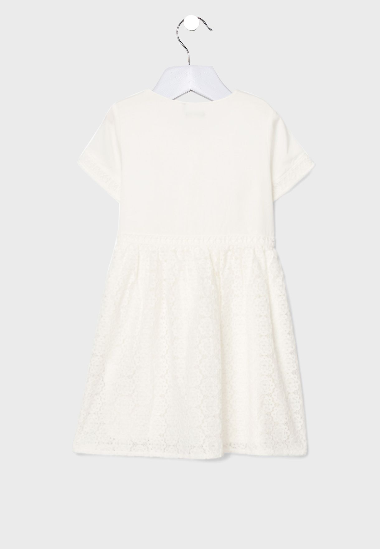 Youth Button Detail Dress