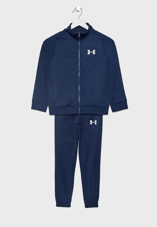 Youth Essential Knit Tracksuit